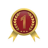 First place icon Stock Images