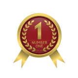 First place icon Royalty Free Stock Photos
