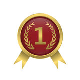 First place icon Royalty Free Stock Photo