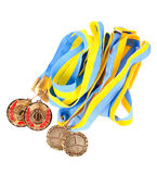First place medals Royalty Free Stock Photography