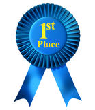 First place ribbon Stock Photos