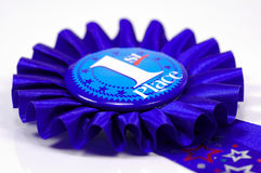 First Place Ribbon Royalty Free Stock Images