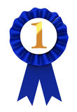 First place ribbon Stock Photo
