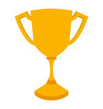 First place trophy isolated icon design. Illustration  graphic Stock Photography