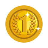 First place winner award Royalty Free Stock Photo