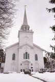 First Presbyterian Church - Cazenovia, New York royalty free stock photography