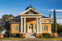 First presbyterian church in Quitman, GA Stock Image