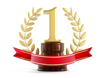 First prize trophy Royalty Free Stock Photo