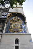 The first public Horologe from Paris in France Stock Image