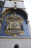 The first public Horologe from Paris in France Stock Photography