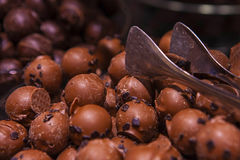 First quality of belgium chocolate Royalty Free Stock Images