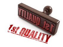 First Quality stamp Royalty Free Stock Photo