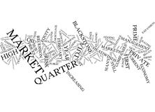 First Quarter Update Word Cloud Concept Stock Images