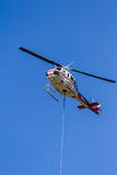 First response fire helicopter Stock Photography