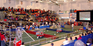 FIRST Robotics, Ann Arbor, MI March 13 Royalty Free Stock Image