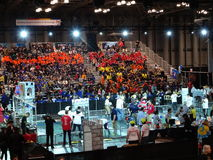 The 2016 FIRST® Robotics Competition 17. New York City FIRST® (For Inspiration and Recognition of Science and Technology) along with over 200 robotics stock photography