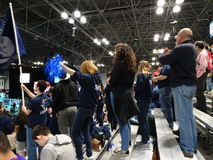 The 2016 FIRST® Robotics Competition 20. New York City FIRST® (For Inspiration and Recognition of Science and Technology) along with over 200 robotics royalty free stock photo