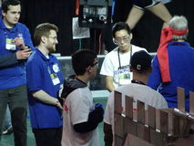 The 2016 FIRST® Robotics Competition 34. New York City FIRST® (For Inspiration and Recognition of Science and Technology) along with over 200 robotics stock photos