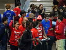 The 2016 FIRST® Robotics Competition 41. New York City FIRST® (For Inspiration and Recognition of Science and Technology) along with over 200 robotics stock images