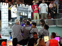 The 2016 FIRST® Robotics Competition 43. New York City FIRST® (For Inspiration and Recognition of Science and Technology) along with over 200 robotics royalty free stock images
