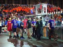 The 2016 FIRST® Robotics Competition 58. New York City FIRST® (For Inspiration and Recognition of Science and Technology) along with over 200 robotics stock photos