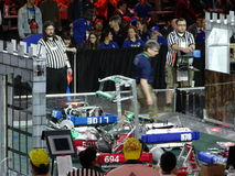 The 2016 FIRST® Robotics Competition 66. New York City FIRST® (For Inspiration and Recognition of Science and Technology) along with over 200 robotics royalty free stock images