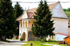 First Romanian School (XIV Century) In Schei (town Brasov), Transylvania Royalty Free Stock Photography