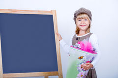 The first school day Stock Photography