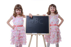 First school day Stock Images
