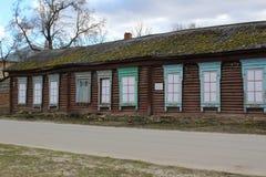 First school in Ramoni. First school in Ramon near Voronezh princess Oldenburg stock photography