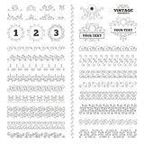 First, second and third place icons. Award medal. Vintage ornaments. Flourishes calligraphic. First, second and third place icons. Award medal sign symbol Stock Photo