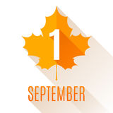 First September Background Royalty Free Stock Images