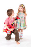 First Serenade Royalty Free Stock Photo