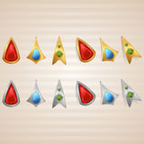 First Set of Cursors Stock Image