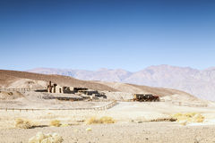 First settlers' house in Death Valley, USA Royalty Free Stock Photo