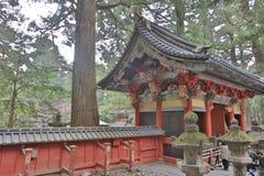 The tomb of Tokugawa Ieyasu in Tosho-gu shrine. The first shogun Tokugawa Ieyasu are entombed here Royalty Free Stock Image