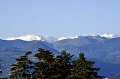 Free First Snow On Montagna Pistoiese Ridge Seen From Pistoia Stock Images - 134497244