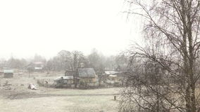 First snow stock video footage