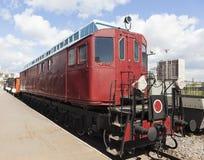 The first Soviet locomotive Gakkel. St. Petersburg. Stock Photography