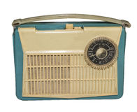The first Soviet mass transistor radio, 1959 Stock Photography