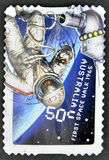 First space walk 1965 Royalty Free Stock Photography