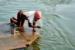 First splash at varanasi uttar pradesh inadia