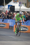 First stage of Tirreno Adriatica race Royalty Free Stock Photos