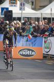 First stage of Tirreno Adriatica race Royalty Free Stock Image