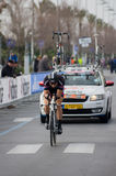 First stage of Tirreno Adriatica race Royalty Free Stock Images