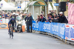 First stage of Tirreno Adriatica race Royalty Free Stock Photography