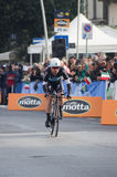 First stage of Tirreno Adriatica race Stock Photography