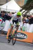 First stage of Tirreno Adriatica race Royalty Free Stock Photo