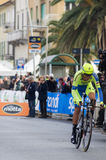 First stage of Tirreno Adriatica race Stock Image