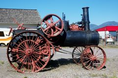 First steam engine in Montana Royalty Free Stock Photo